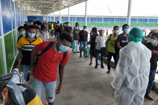 Satu bayi 23 hari ada di antara 134 WNI dideportasi dari Malaysia