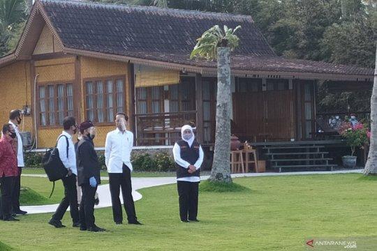 Presiden Jokowi tinjau prakondisi normal baru pariwisata di Banyuwangi
