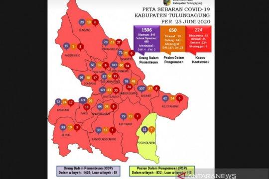 Sejumlah 66 pasien COVID-19 Tulungagung sembuh dan langsung pulang