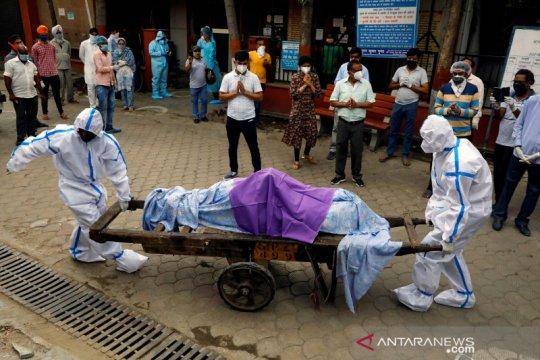 Hampir 700.000 kasus, India negara ketiga paling terpukul corona