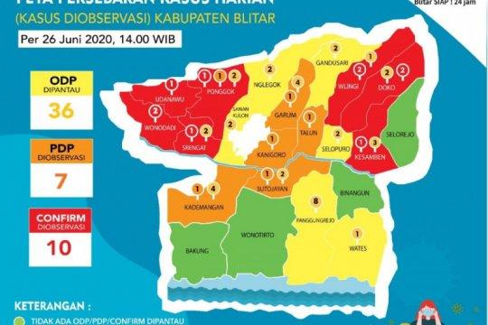 Kasus positif COVID-19 di Kabupaten Blitar bertambah 2 jadi 24 warga