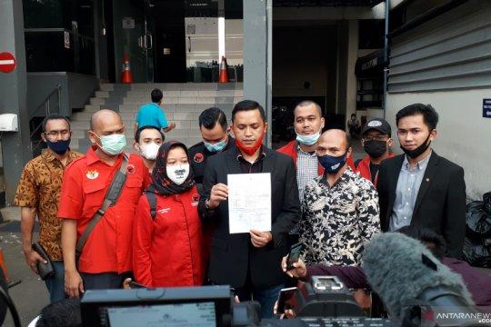 DPD PDIP laporkan pembakaran bendera partai ke Polda Metro Jaya