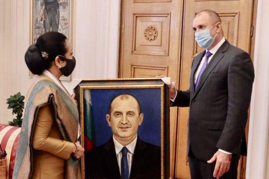 Dubes RI Sofia terima Bintang dari  Presiden Bulgaria