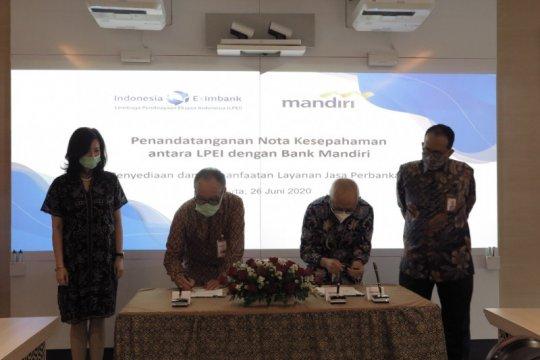 LPEI gandeng Bank Mandiri kerja sama penjaminan kredit