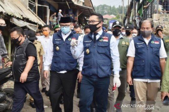 "Gubernur Jabar waspadai lokasi wisata ""dadakan"" di Puncak Bogor"