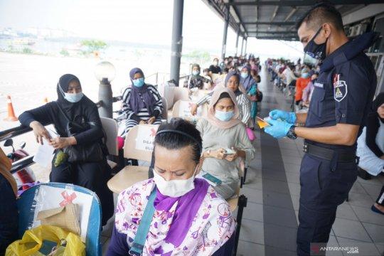2.500 pekerja migran ilegal sudah dipulangkan dari Malaysia
