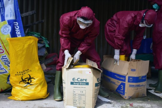 Limbah infeksius di Riau melonjak 500 persen akibat wabah COVID-19