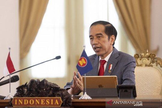 Presiden Jokowi ikuti KTT ASEAN ke-36 secara virtual