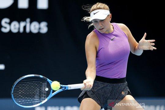 Amanda Anisimova dinyatakan positif terinfeksi COVID-19