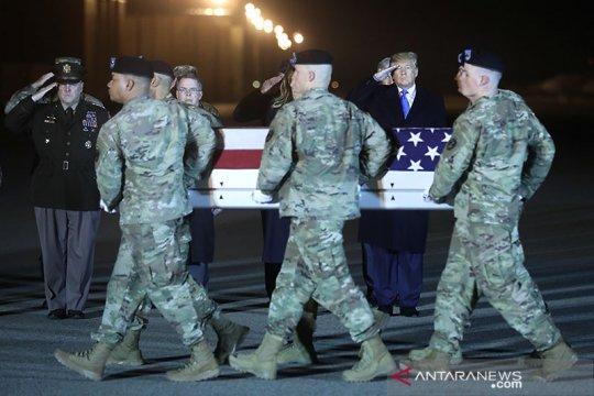 AS akan kurangi tentara di Afghanistan  jadi 2.500 pada awal 2021