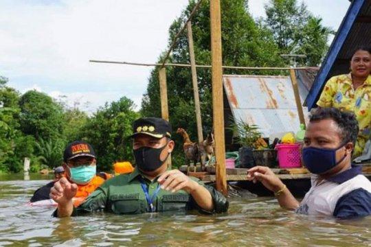 Lima kecamatan di Lamandau Kalteng dilanda banjir