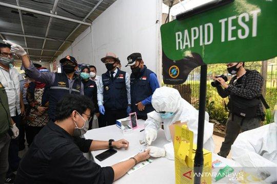 """""""Rapid test"""" di Stasiun Bogor-Bojong Gede temukan 15 orang reaktif"""