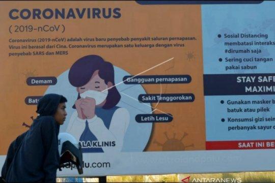 Lima pasien COVID-19 di Sulteng dinyatakan sembuh