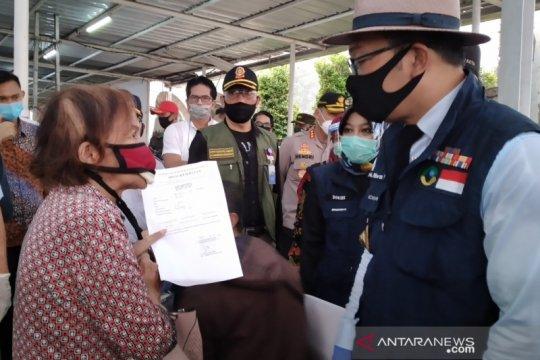 Delapan orang reaktif dari hasil tes cepat COVID-19 di Stasiun Bogor