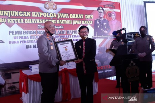 Rapid test pemecah rekor MURI di Cianjur nihil kasus COVID-19