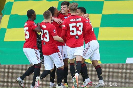 FA Cup : MU menang 2-1 dari Norwich City