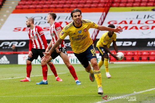 Piala FA: Arsenal kalahkan Sheffield United 2-1