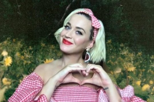 Katy Perry akan tampil di konser virtual Tomorrowland Festival