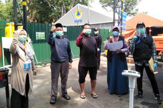 Gugus Tugas Jatim: 72,9 persen pasien di RS Lapangan Surabaya sembuh
