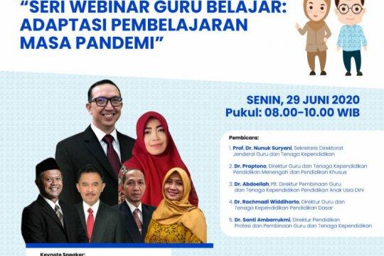 Kemendikbud ajak pendidik ikuti peluncuran webinar pelatihan