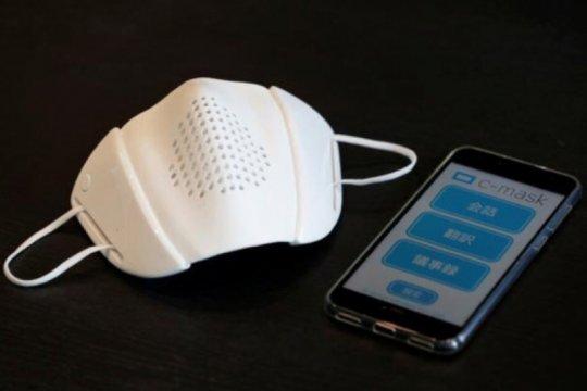 Startup Jepang ciptakan masker cerdas terkoneksi internet