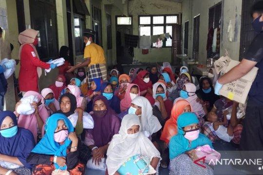 PMI salurkan bantuan untuk pengungsi Rohingya terdampar di Aceh