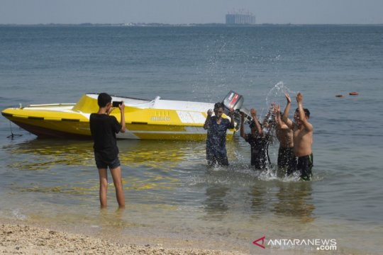 Pulau Untung Jawa destinasi wisata favorit di Kepulauan Seribu