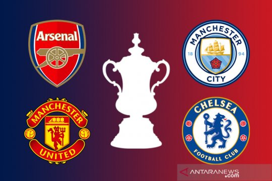 Ringkasan Piala FA: tim-tim London dan Manchester ke semifinal