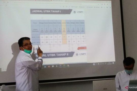 Pelaksanaan UTBK SBMPTN di Unand terapkan protokol COVID-19