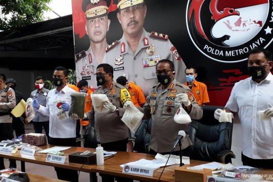 Polda Metro Jaya bongkar produsen cairan vape isi narkoba