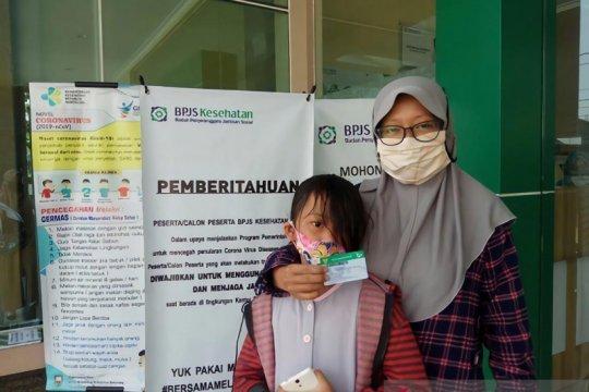 Vina peserta BPJS bersyukur adanya layanan kesehatan JKN-KIS
