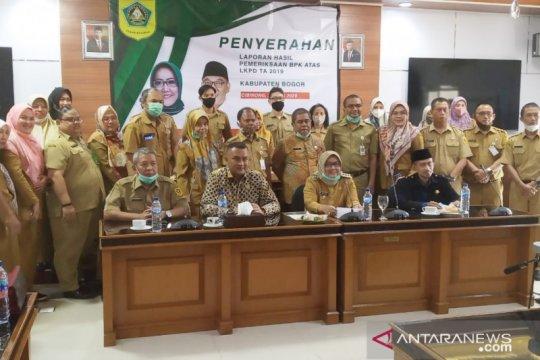 Pemkab Bogor kembali dapat WTP lima kali berturut-turut