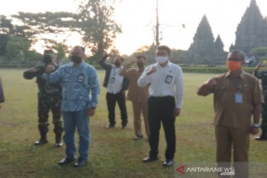 Pengunjung Candi Prambanan dari luar daerah wajib bawa surat sehat