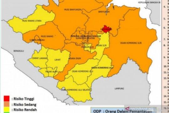 GTPP sebut Palembang satu-satunya zona merah COVID-19 di Sumsel
