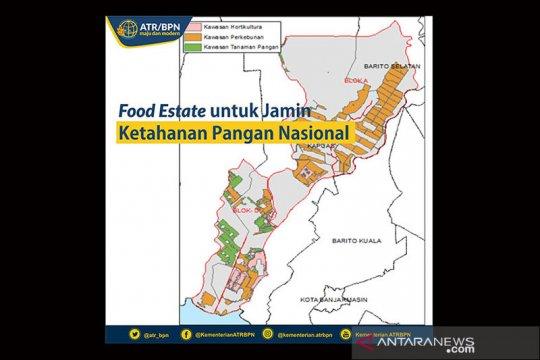 Presiden tugaskan tiga menteri dukung program ketahanan pangan