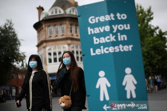 "Kasus COVID-19 melonjak, Inggris ""lockdown"" Kota Leicester"