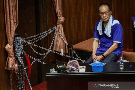 Protes politisi oposisi di Taiwan