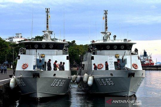 Dua Kapal AL baru perkuat patroli di perairan Sulawesi