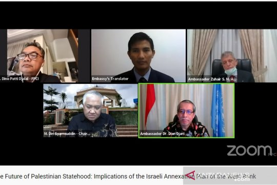 Dubes: menolak aneksasi atas Palestina akan penuhi janji KAA Bandung