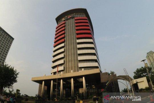 KPK menahan Dadang Suganda tersangka kasus korupsi RTH Pemkot Bandung