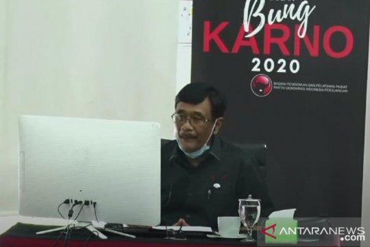 Djarot: Ajaran Bung Karno relevan hadapi krisis wabah COVID-19