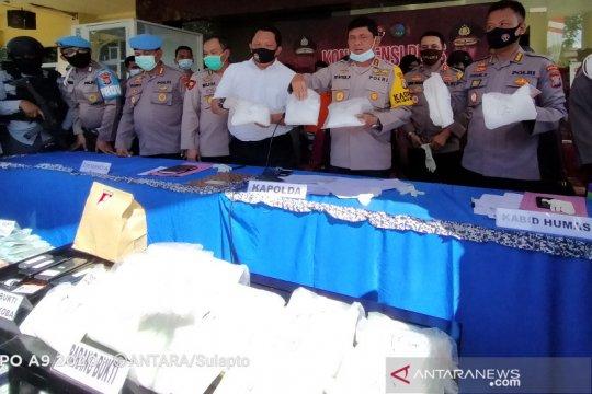 Kapolda Sulteng : Penyelundup narkoba 25 kg terancam hukuman mati