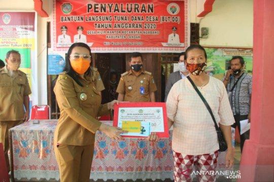 Di Kabupaten Landak, penyaluran BLT Dana Desa melalui ATM penerima