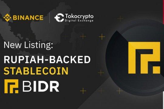 """Tokocrypto dan Binance resmi jual """"stablecoin"""" berbasis rupiah"""