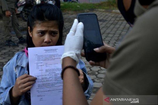 Sidang cepat pelanggar protokol kesehatan di Makassar