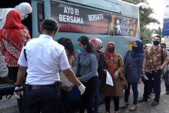 BRI wilayah Medan gelar tes usap ratusan karyawan