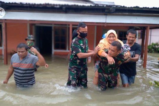 Empat desa di Banggai dilanda banjir, ratusan rumah terendam
