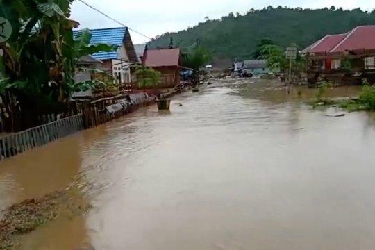 Enam kecamatan di Konawe Utara kembali diterjang banjir