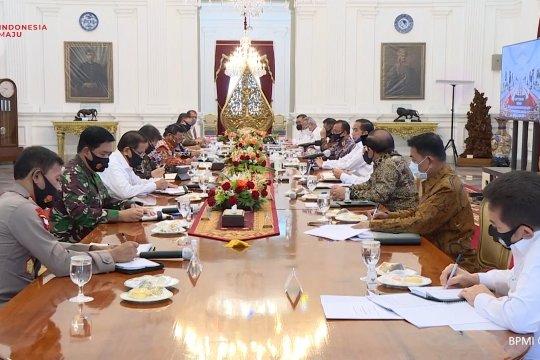 Presiden instruksikan upaya pencegahan karhutla