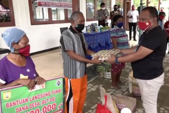 Walikota Jayapura memastikan distribusi BLT dan 10.000 paket sembako tepat sasaran